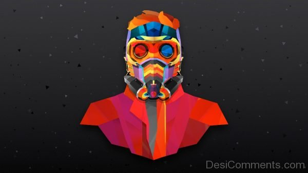 Colorful Wallpaper Of Star Lord
