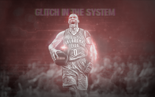 Glitch In The System - Russell Westbrook Wallpaper