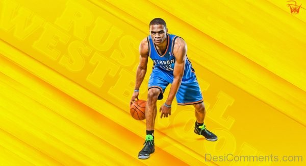 Picture: Russell Westbrook Wallpaper On Yellow Background