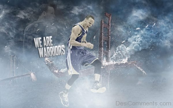 We Are Warriors - Stephen Curry Wallpaper