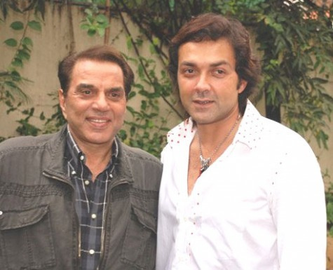 Dharmendra Deol With Sunny Deol