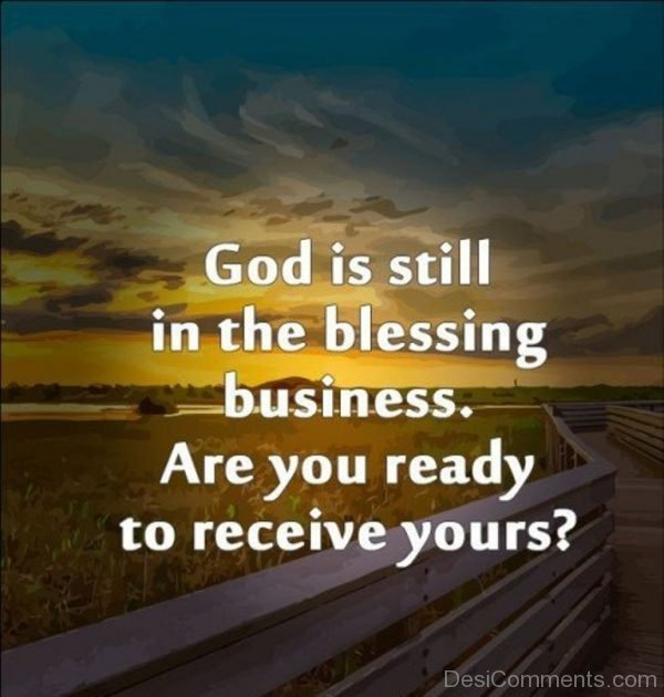 God Is Still In the Blessing Business-DC16