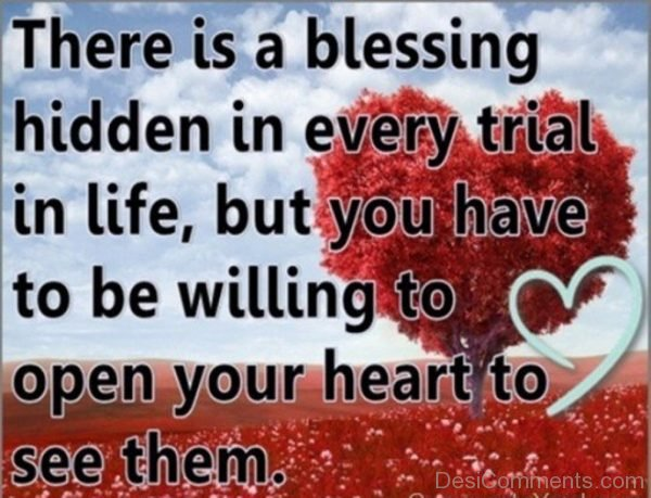There Is A Blessing Hidden In Every Trial-DC49