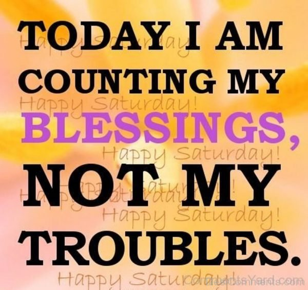 Today I Am Count My Blessings-DC50