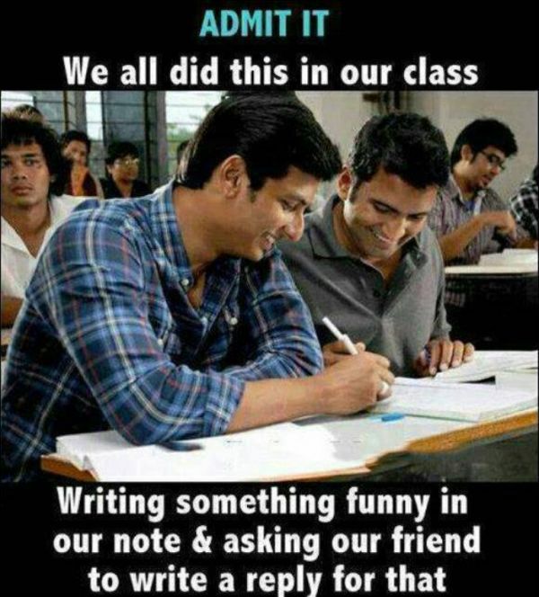 Admit It We All Did This In Our Class-DC017