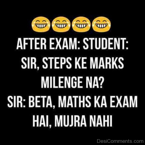After Exam