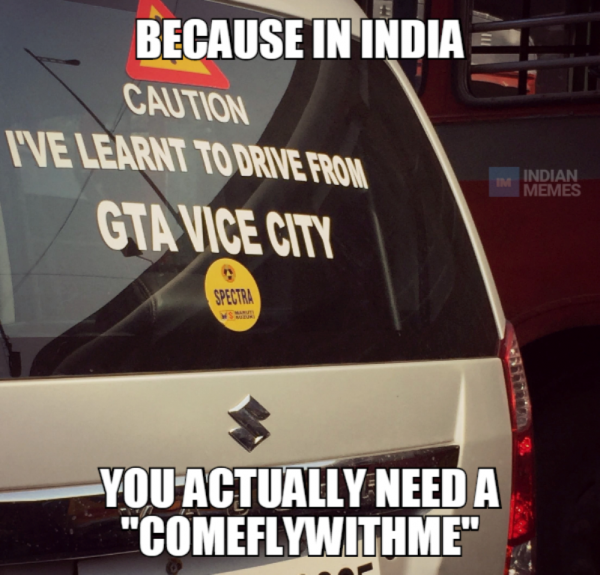 Because In India