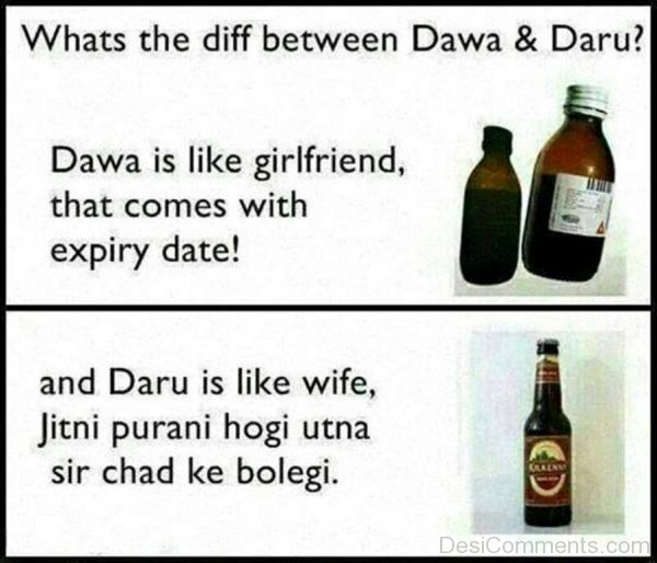 Difference Between Dawa And Daru-DC038