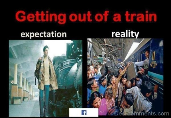 Getting Out Of A Train