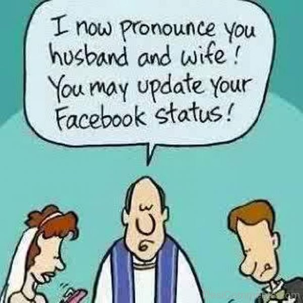 Picture: I Now Pronounce You Husband And Wife