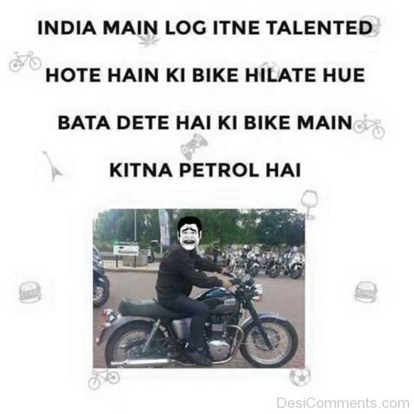 Picture: India Main Log Itne Talented Hote Hain