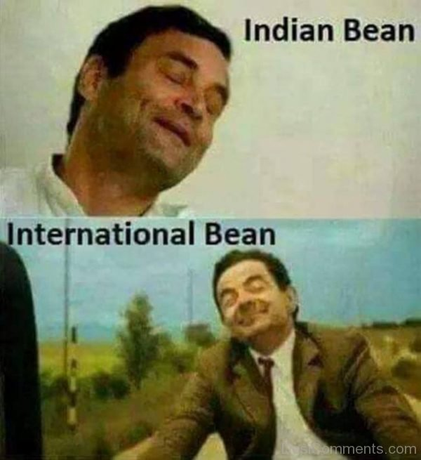 Picture: Indian Bean Vs International Bean