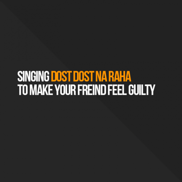 Singing Dost Dost Na Raha-DC092