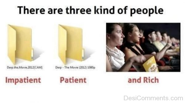 Picture: There Are Three Kind Of People