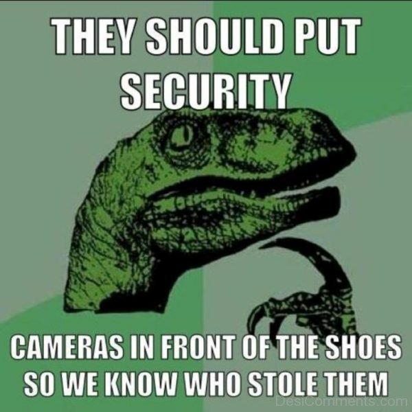 Picture: They Should Put Security