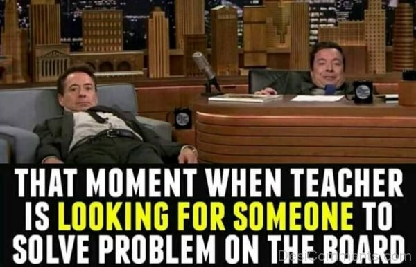 When Teacher Is Looking For Someone-DC245