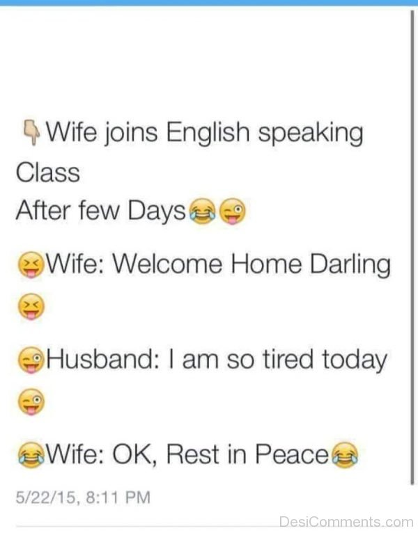 Wife Joins English Speaking Class-DC272