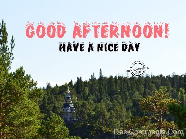 Good Afternoon – Have A Nice Day