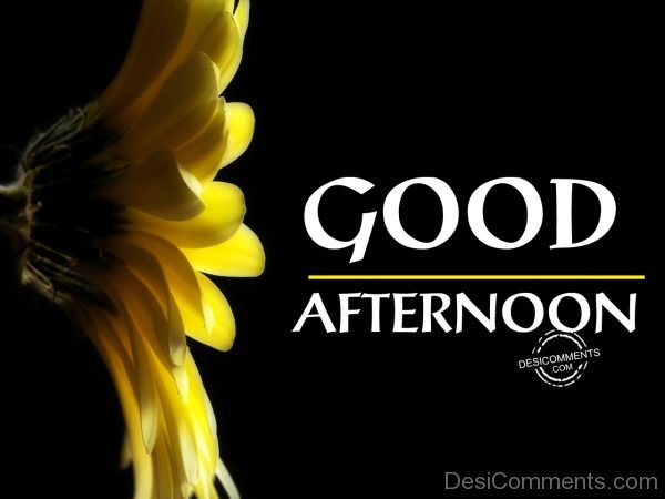 Photo Of Good Afternoon 012