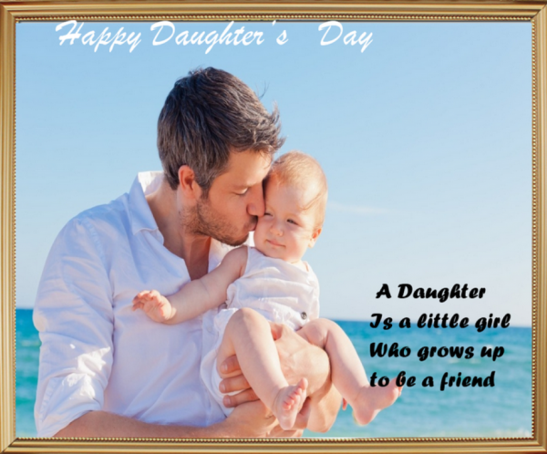 Picture: A Daughter Is A Little Girl Who Grows Up To Be A Friend