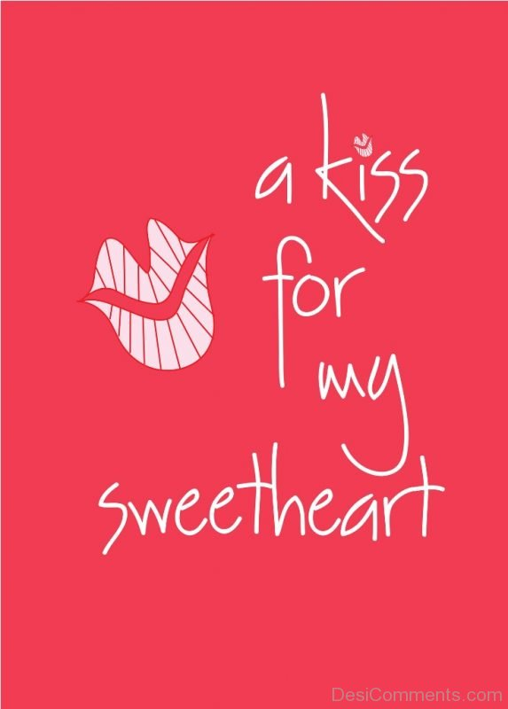 A Kiss For My Sweetheart