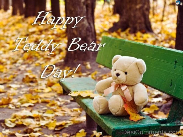 Adorable Pic Of Happy Teddy Bear Day
