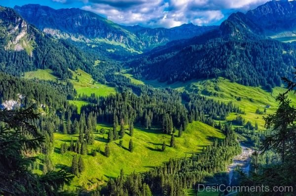 Austria Mountains Landscape