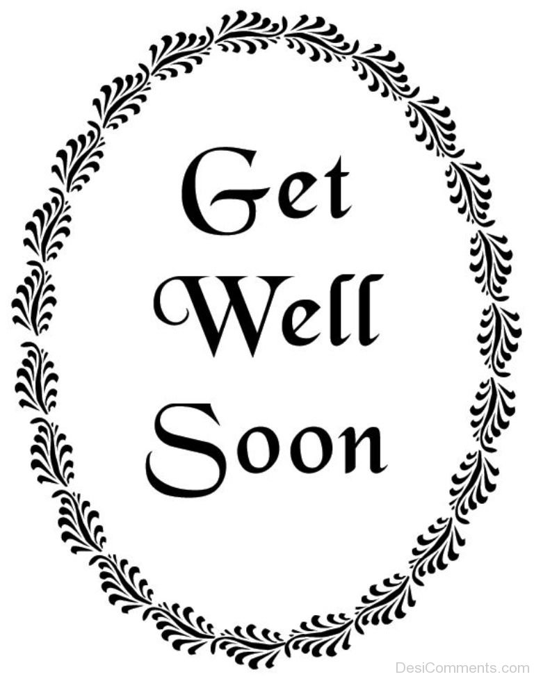 Smart image within get well soon printable