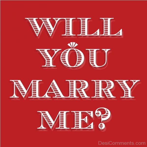 Awesome Pic Of Marry Me