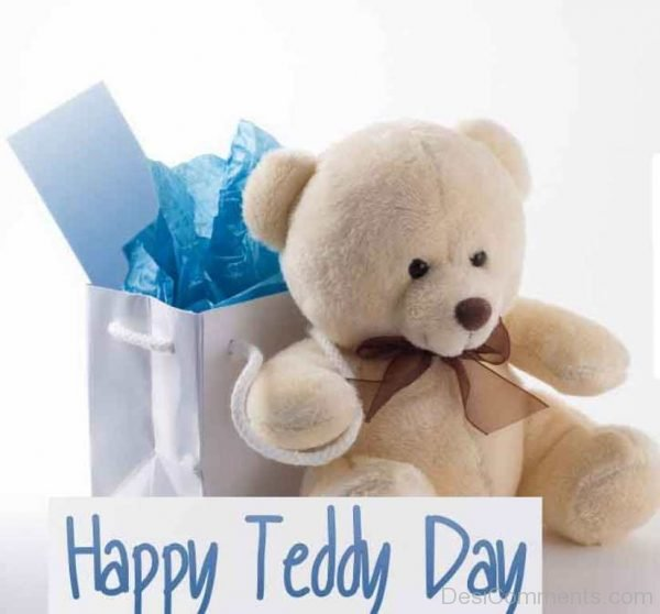 Beautiful Pic Of Teddy Bear Day