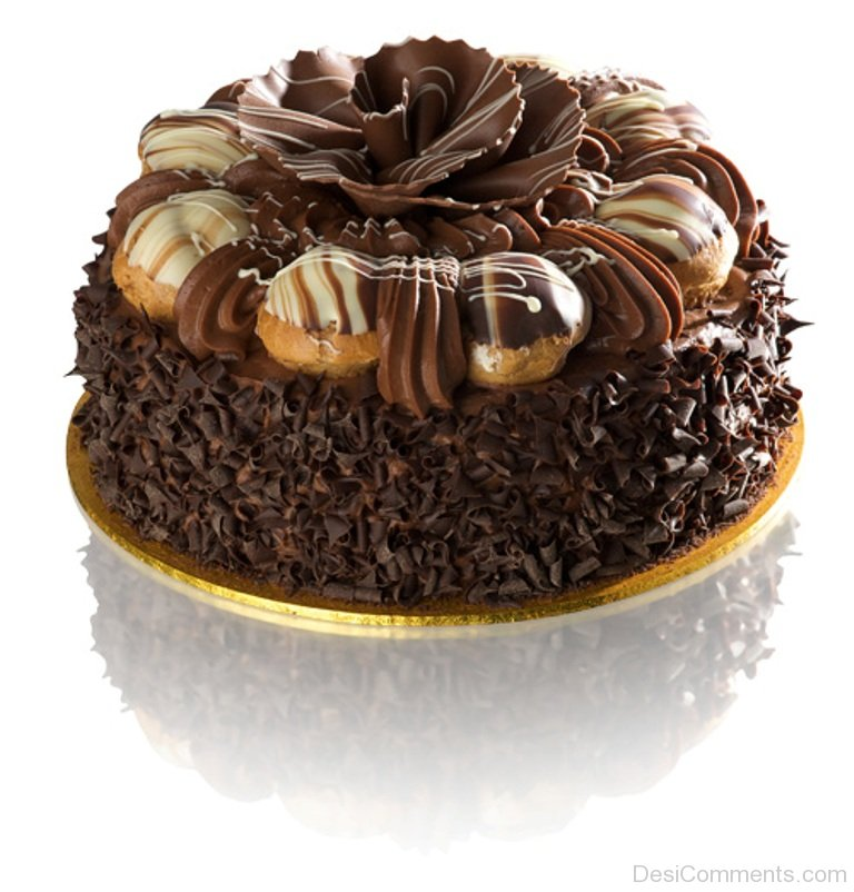 Beautiful Chocolate Cake Picture Desicomments Com