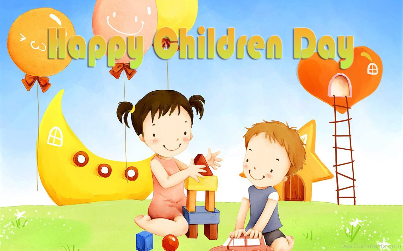 Beautiful Happy Children Day Pic Desicomments