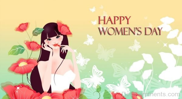 Beautiful Happy Womens Day Pic