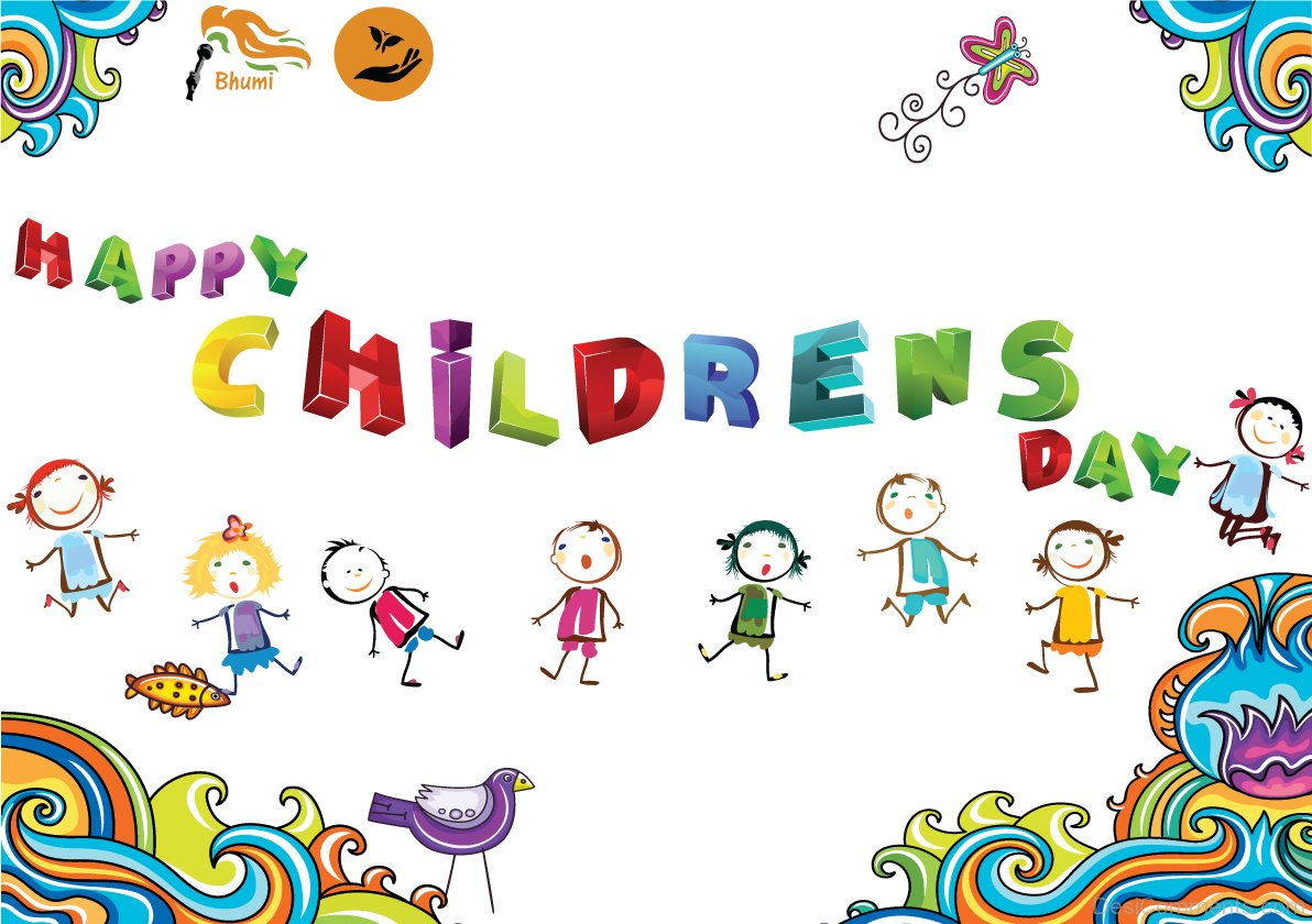 Beautiful Pic Of Happy Children's Day - DesiComments.com