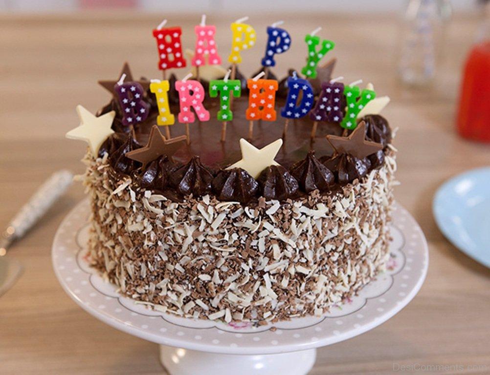 Making With Cake Birthday Happy Photo