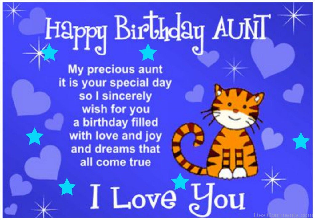 Birthday wishes for aunt pictures images graphics birthday wishes for aunt m4hsunfo Image collections