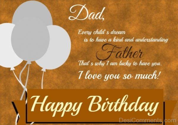 Picture: Birthday Wishes for Father
