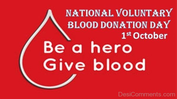 Picture: Blood Donation Day Image
