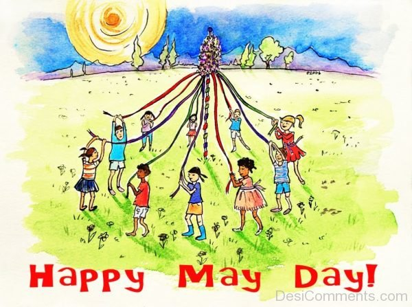 Brilliant Pic Of May Day