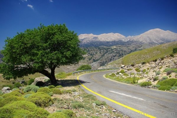 Creati Mountains Road Landscape