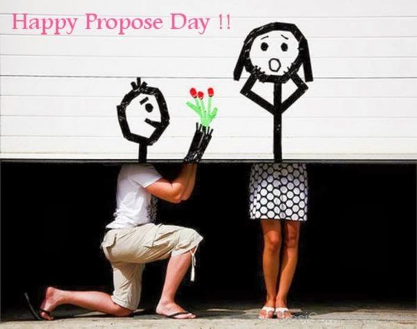 Excellent Pic Of Happy Propose Day