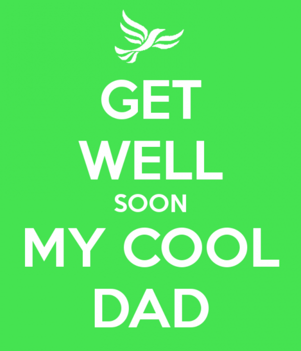 Get Well Soon My Cool Dad