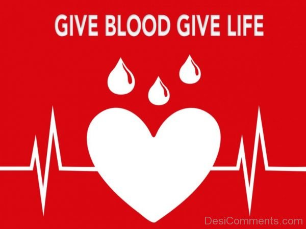 Give Blood Give Live