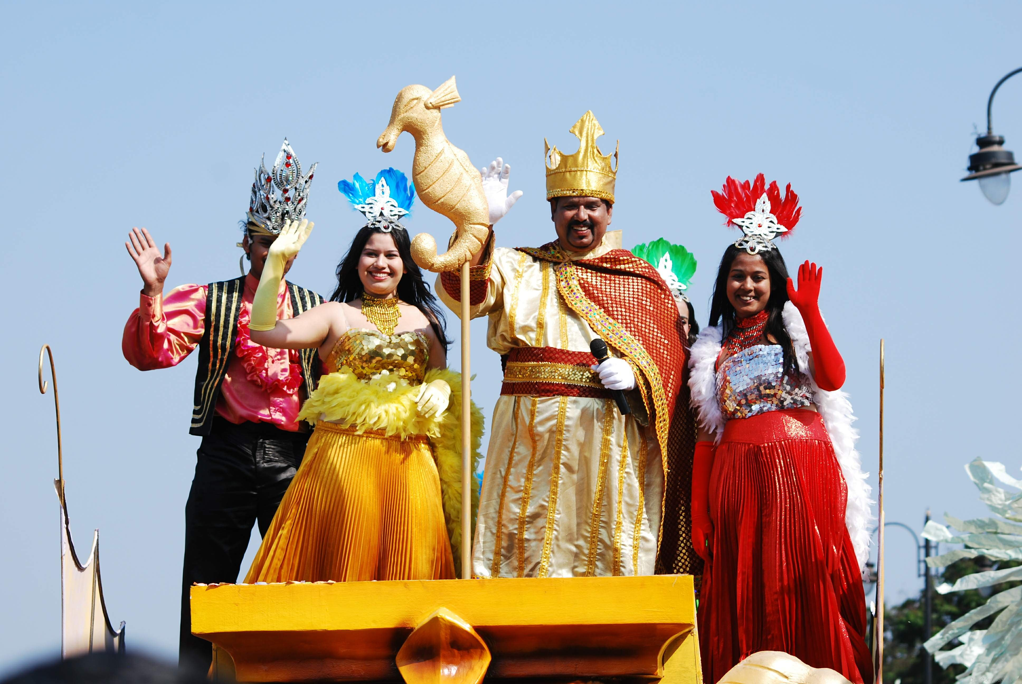 carnival in goa Carnival in goa is one of the smaller celebrations of the carnival festival worldwide, but is the largest in india and one of the few happening across asia it usually takes place around february.
