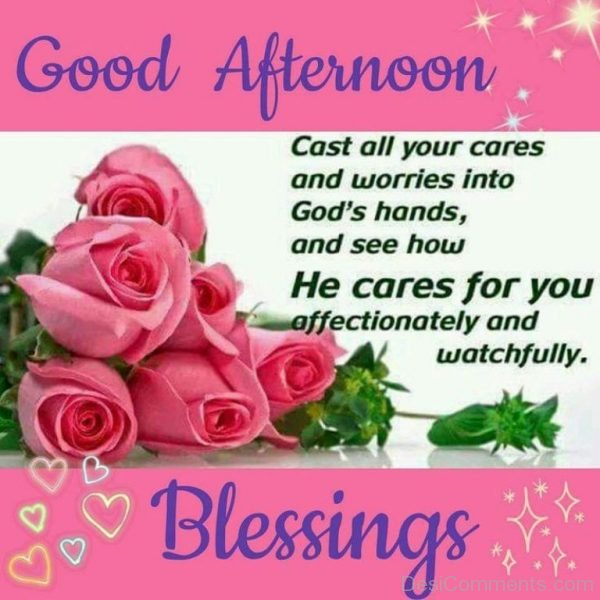 Good Afternoon Blessings