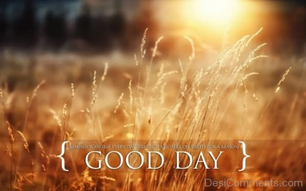 Picture: Good Day