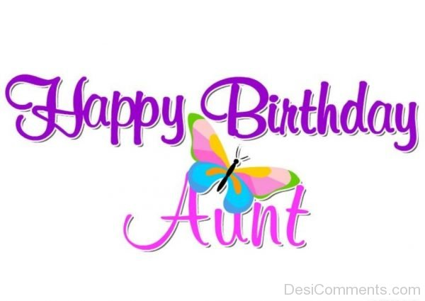 Happy Birthday Aunt Image