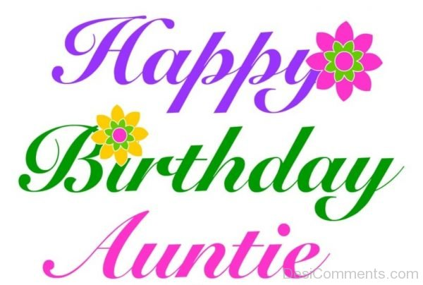 Picture: Happy Birthday Auntie
