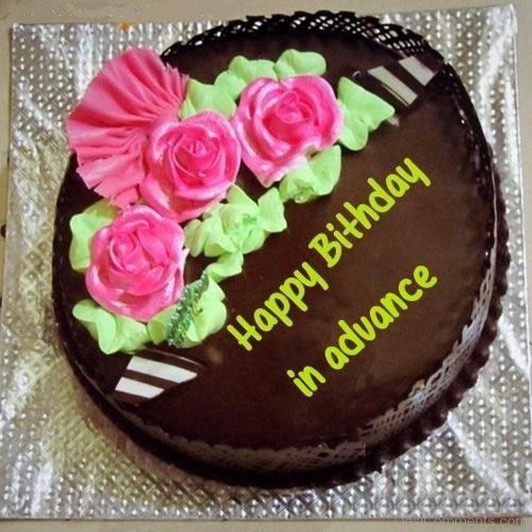 Advance Happy Birthday Pictures Images Graphics