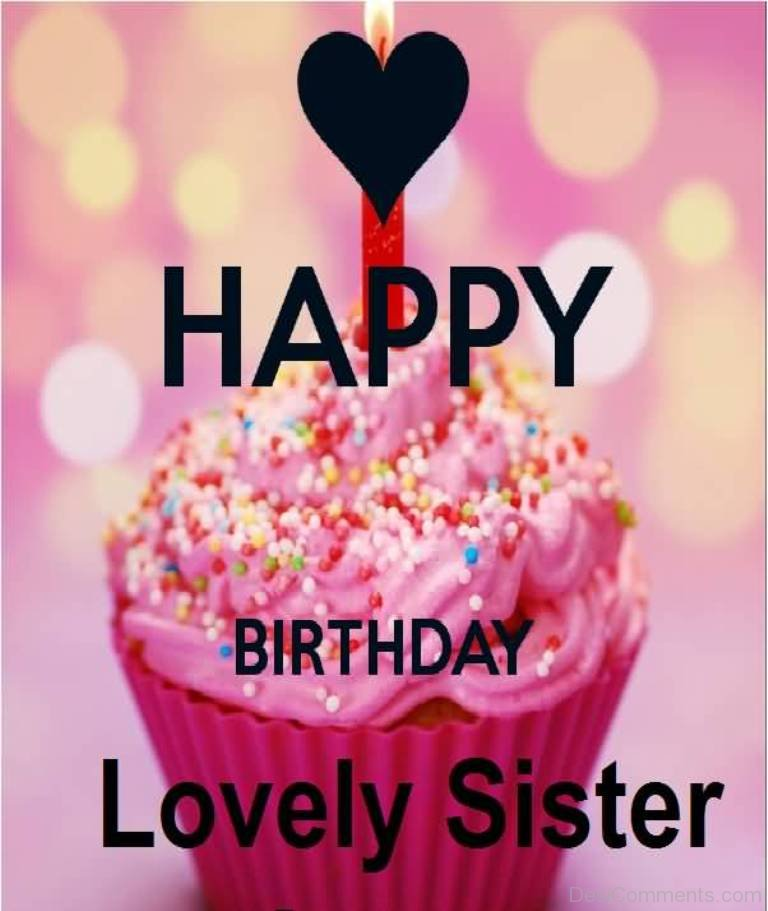 Superior Happy Birthday Lovely Sister